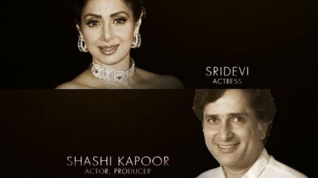 90th Academy Awards: Oscars 2018 pay tribute to Late Sridevi & Shashi Kapoor in the In memoriam montage section!