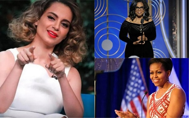 Kangana Ranaut to share stage with Michelle Obama and Oprah Winfrey to promote Gandhian Philosophy