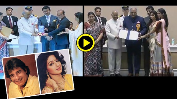 National Film Awards 2018: Vinod Khanna, Sridevi honoured pothumously; Families accept award!