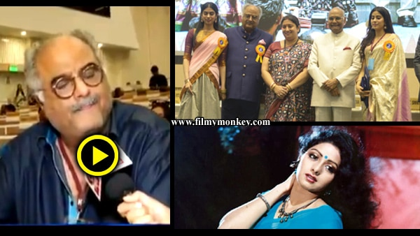 65th National Film Awards: Boney Kapoor chokes talking about Late Sridevi receiving Best Actress award!