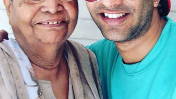 Ex Bigg Boss contestant Akash Dadlani shares an adorable pic with his 90-year-old grandmother!
