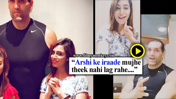 VIDEO: Look what Arshi Khan just did that left The Great Khali embarrassed!