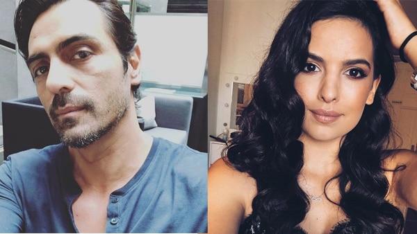 Arjun Rampal REACTS FINALLY! Denies dating Natasa Stankovic!