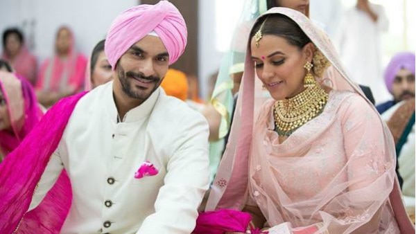Neha & Angad celebrate one month wedding anniversary with CUTE wishes for each other!