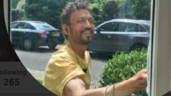 Irrfan Khan is fighting illness with a smile; his new pic goes VIRAL!