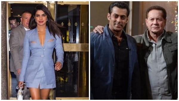 Is Salman UPSET with Priyanka for walking out of 'Bharat'? Father Salim Khan ANSWERS