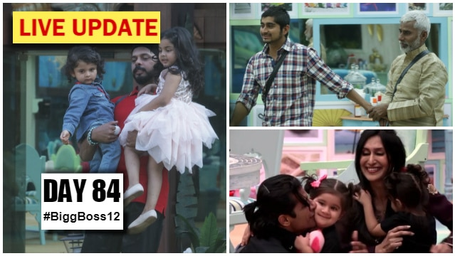 Bigg Boss 12 Day 84 Episode 85 LIVE updates: New luxury budget task 'Remote Control'; Contestants get emotional as they meet family members!