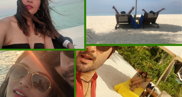 Richa Chadha's Birthday celebration in Maldives with beau Ali Fazal; Pics & Videos!