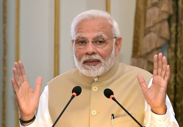 PM Modi candid New Year interview on Ram Mandir Surgical Strikes Triple Talaq sets tone for BJP's 2019 polls campaign