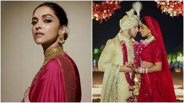Deepika Padukone talks about Priyanka Chopra & Nick Jonas' wedding; says ''You can tell that she feels settled''