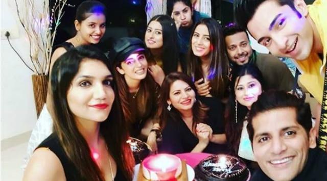 New Year 2019: Nehha Pendse, Srishty Rode, Karanvir Bohra, Rohit Suchanti  & other 'Bigg Boss 12' contestants reunite! PICS & VIDEOS!