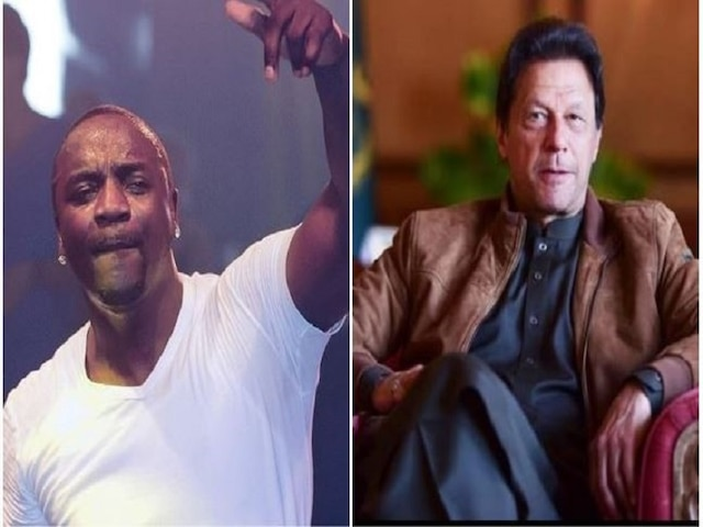 Pakistan Prime Minister Imran Khan gets a message from 'smack that' singer Akon
