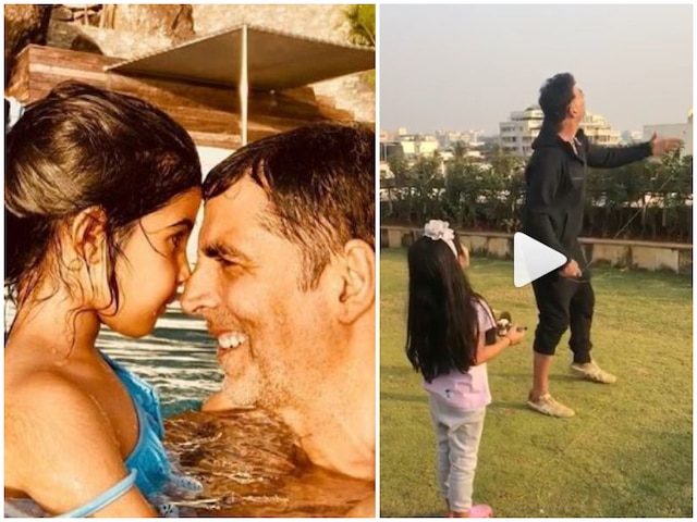 VIDEO: Akshay Kumar & daughter Nitara fly kites as they celebrate Makar Sankranti!