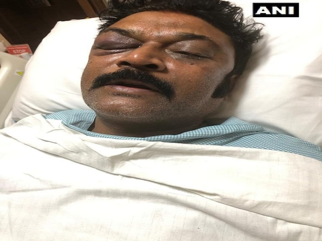 Absconding Congress MLA JN Ganesh arrested in Gujarat for assaulting another lawmaker