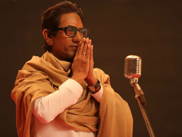 'Thackeray' MOVIE REVIEW: Nawazuddin Siddiqui starrer is aesthetically presented and convincing!