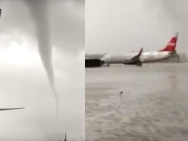 WATCH: Buses turn, aircrafts get blown away as massive tornado strikes Turkish airport, video viral
