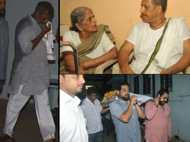 Nana Patekar's mother Nirmala Patekar dies at 99; Actor performs last rites!