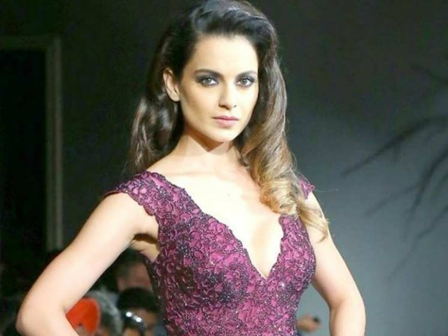 Kangana Ranaut advocates stopping release of Indian films in Pakistan