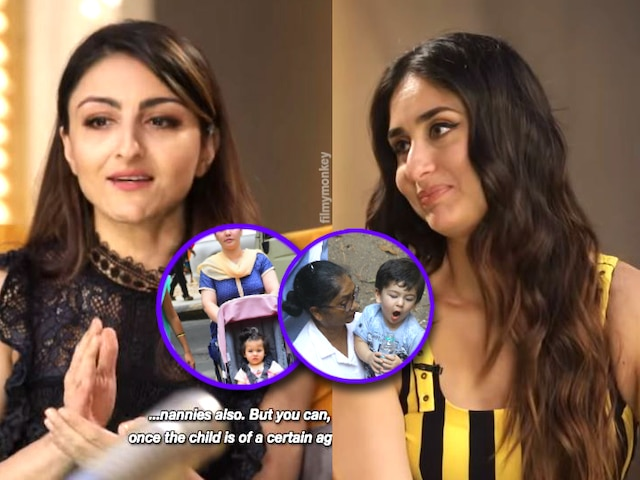 Taimur Ali Khan's mom Kareena Kapoor 'shows' finger to trolls who criticize her for hiring nanny for son! Soha Ali Khan was guest on Bebo's radio show 'What Women Want'