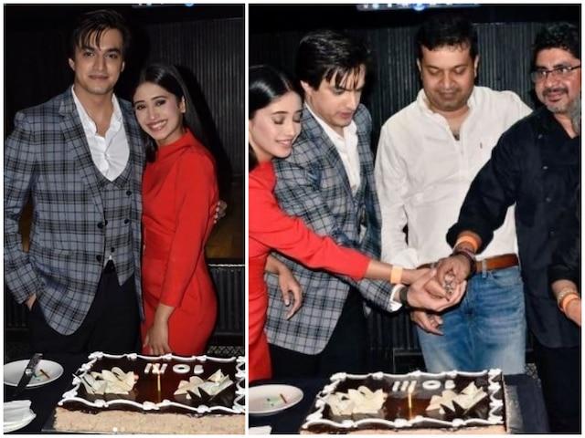 Yeh Rishta Kya Kehlata Hai completes 10 Years: Naira & Kartik aka Shivangi Joshi & Mohsin Khan party hard with team- PICS& VIDEOS