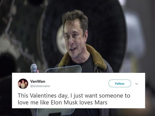 Elon Musk asks 'Mars' to send
