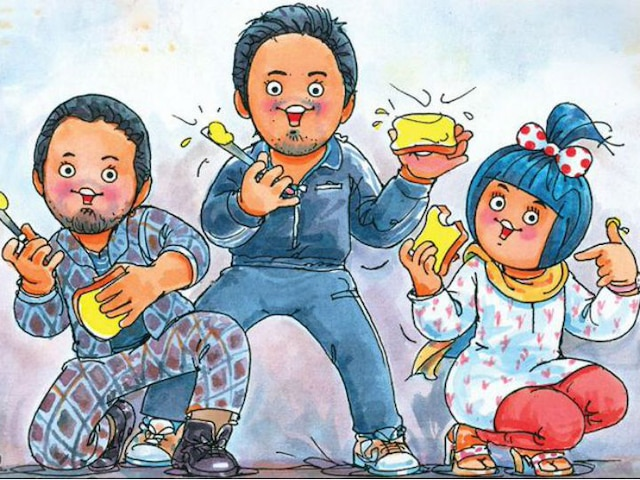 Amul celebrates Ranveer Singh-Alia Bhatt's 'Gully Boy' with its new doodle