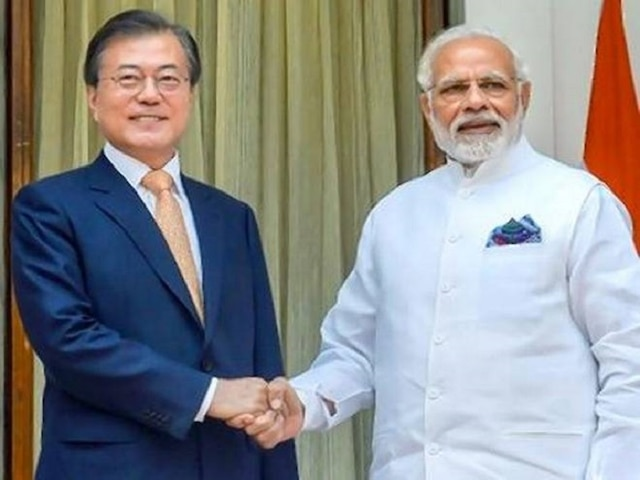 PM Modi, South Korean Prez Moon Jae-in hold 'constructive' talks to strengthen trade, defence ties