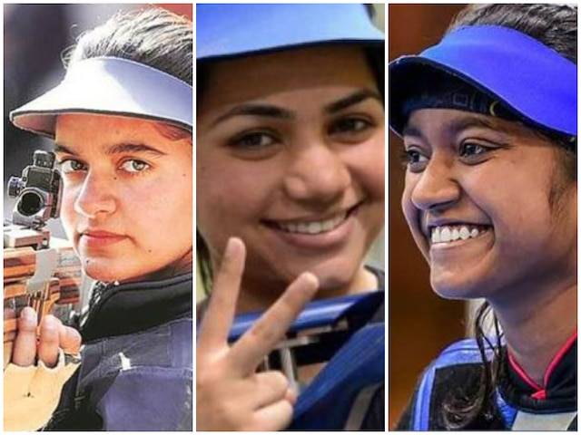 ISSF World Cup: Apurvi, Anjum, Elavenil in action on day one of competition