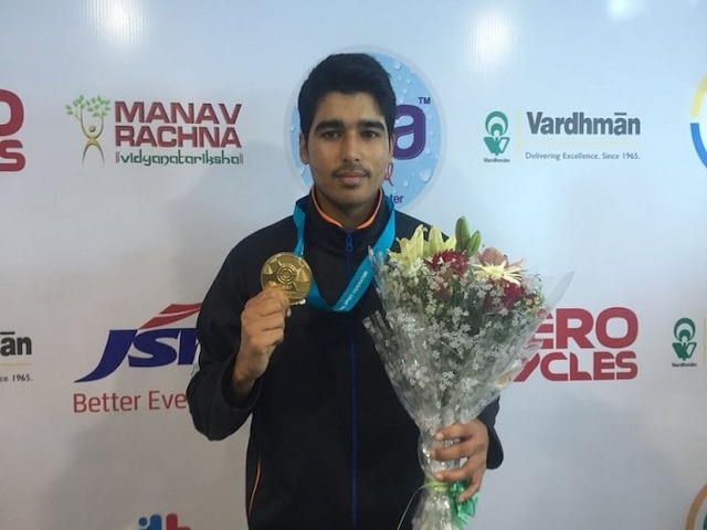 ISSF World Cup: Saurabh Chaudhary wins gold with world record, secures Olympic quota