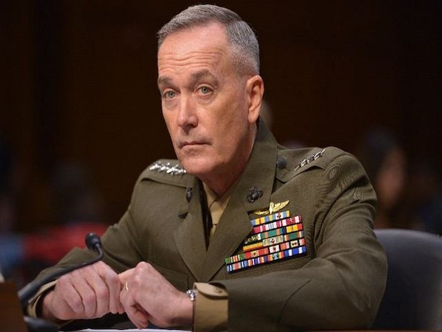 US General Dunford calls his Pakistan counterpart, discusses current security situation between Ind-Pak: Pentagon