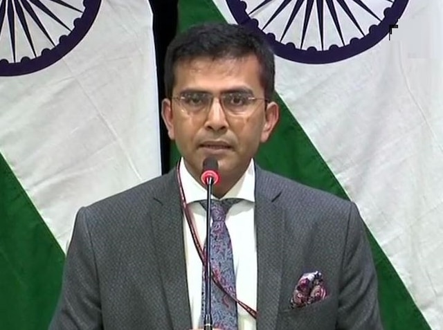 'Not heard from Pakistani side on this, reports unverified,' MEA on alleged arrest of Indian national for spying