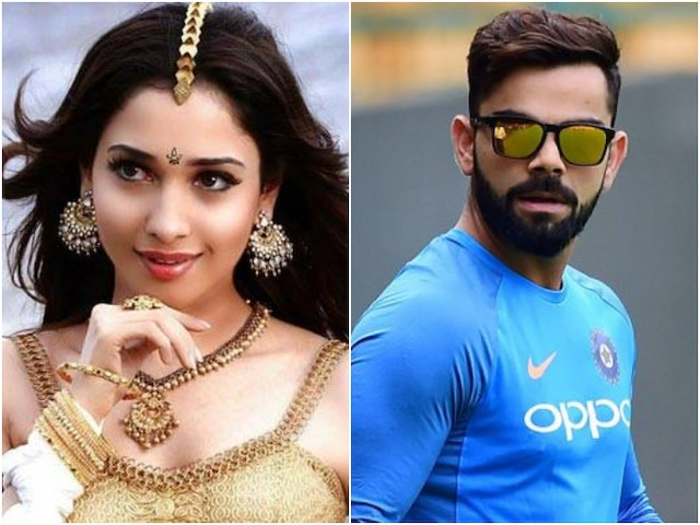 Famously Filmfare: Tamannaah Bhatia REACTS to rumours of DATING Virat Kohli, Here's what she said