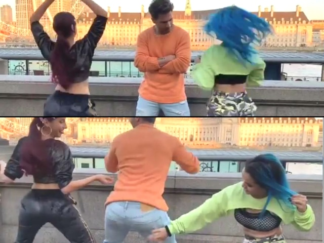 Street Dancer 3D: Varun Dhawan's twerking skills is leaving internet in splits; Was challenged by Nora Fatehi!