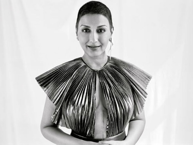 Sonali Bendre's first photo shoot since cancer diagnosis: Actress embraces her bald head flaunting 20-inch scar from her cancer surgery!