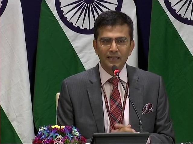MEA Spokesperson Raveesh Kumar on Trump's Claim of Kashmir Mediation