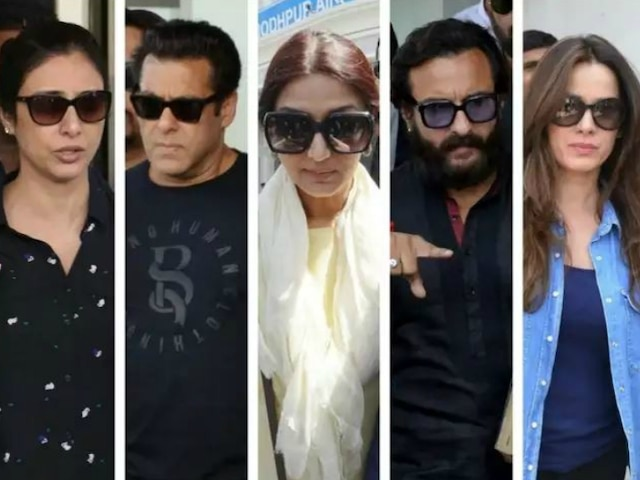 Prosecution challenges 4 cine stars' acquittal in black buck poaching case; Rajasthan High Court issued notices to Saif Ali Khan, Sonali Bendre, Tabu & Neelam Kothari