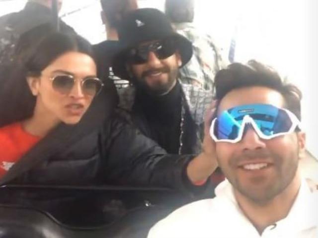 Kalank actor Varun Dhawan 'adopts' Deepika Padukone, Ranveer Singh as parents