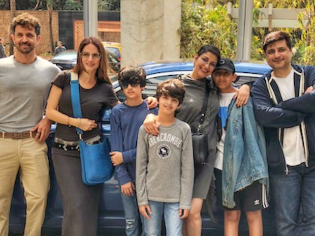 Sonali Bendre shares picture with Hrithik Roshan, Sussanne Khan, Goldie Behl & son Ranveer, celebrates 'Normal life' with family!