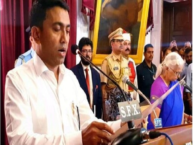 Goa gets a new CM in the wee hours; BJP's Pramod Sawant takes oath