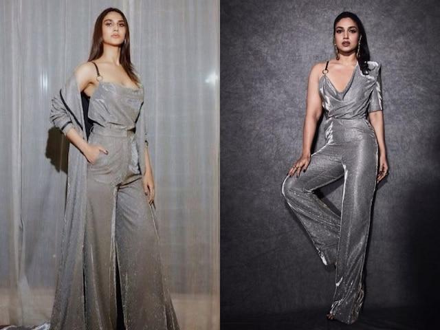 Vaani Kapoor or Bhumi Pednekar, who wore the silver jumpsuit better?