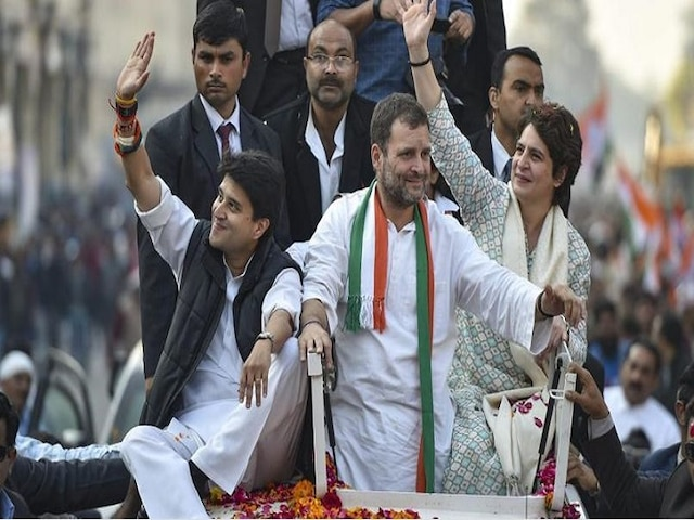 Congress releases list of star campaigners in UP, Maharashtra; Rahul, Sonia, Priyanka, Scindia among top names