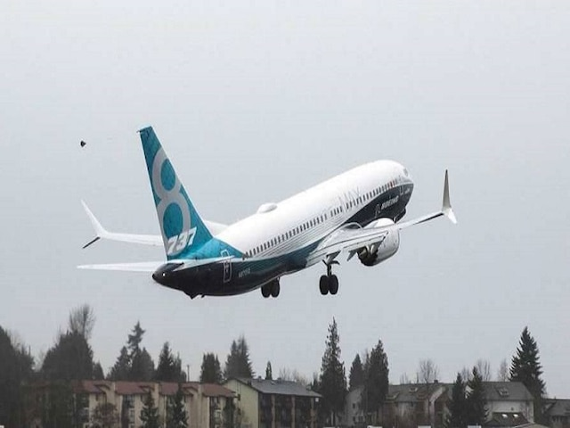 Boeing 737 MAX aircraft makes emergency landing after engine problem