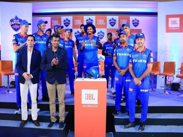 JBL announces sponsorship with Delhi Capitals for IPL Season 12, DC play friendly match with JBL Sunshiners