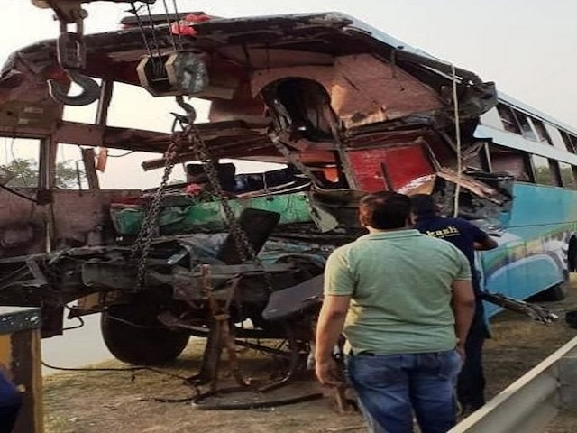 Greater Noida bus accident: Tourist bus rammed into truck at Yamuna Expressway; 8 dead, 30 injured