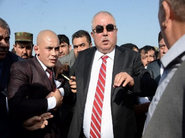 Afghan vice president survives Taliban attack
