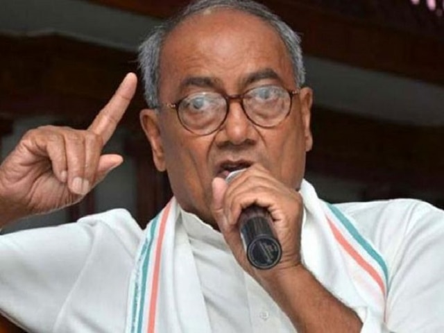 Digvijaya Singh upset after Kamal Nath-led Cong govt withdraws security from RSS headquarters in Bhopal