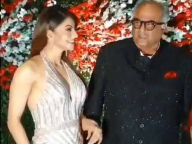 Video of Boney Kapoor touching Urvashi Rautela inappropriately goes VIRAL; Actress finally reacts