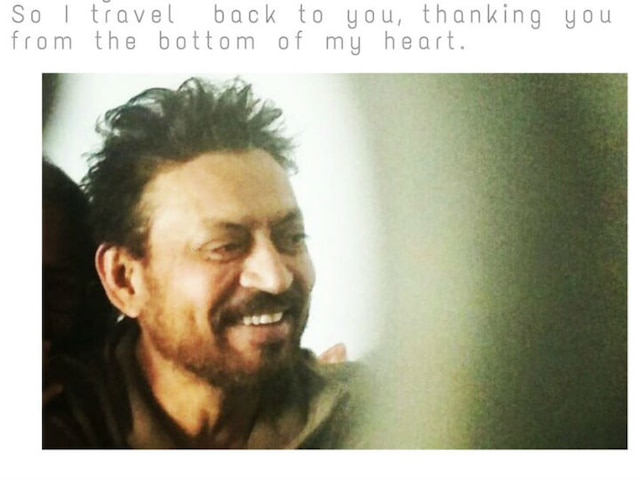 Irrfan Khan confirms his return after cancer treatment, says 'Grateful for Love and Support'