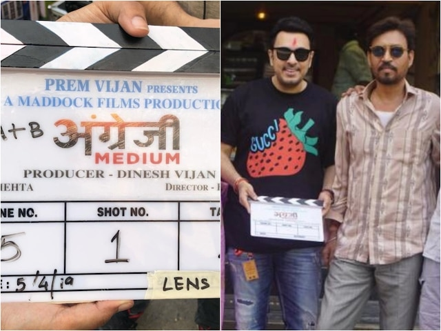 Irrfan Khan starts shooting Hindi Medium sequel Angrezi Medium in Udaipur