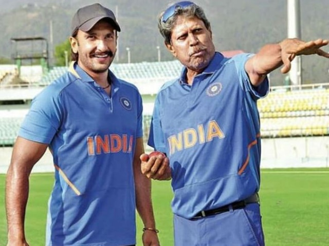 Ranveer Singh preps with Kapil Dev for '83' at Dharamshala Cricket Stadium